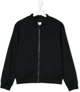 DKNY striped bomber jacket