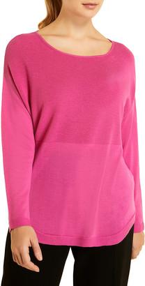Marina Rinaldi Plus Size Araldo Wool Sweater