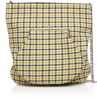 Victoria Beckham Plaid Wallet Shopper Bag