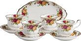 Royal Albert Old Country Roses 9-pc. Tea Set