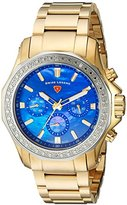 Swiss Legend Women's 'Islander' Quartz Stainless Steel Casual Watch, Color:Gold-Toned (Model: 16201SM-YG-33-SB)