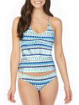 Arizona Geometric Tankini Swimsuit Top-Juniors
