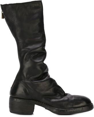 Guidi Zip Up Calf Boots
