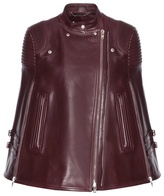 Givenchy Leather Cape