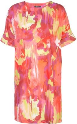 Natori Crepe de Chine T-shirt dress