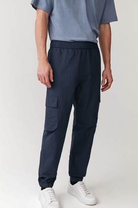 Cos Recycled Technical-Organic Cotton Cargo Trousers