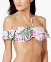 Bar III Printed Off-The-Shoulder Bikini Top, Created for Macy's