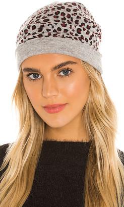 Autumn Cashmere Leopard Print Hat
