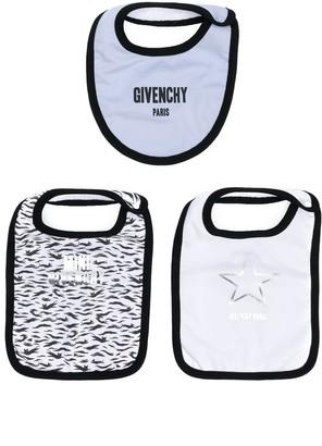 Givenchy Kids Set Of Three Bibs
