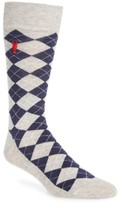 Cole Haan Men's Pinch Argyle Socks