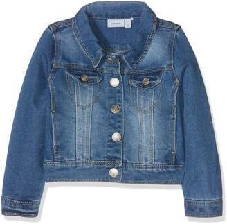 Name It Girl's NITSTAR RIKA DNM JACKET NMT NOOS Jacket Blue (Medium Blue Denim) 158