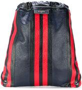 Balenciaga Bazar Drawstring backpack