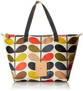 Orla Kiely ETC by Womens Classic Stem Zip Shopper Shoulder Bag 0ETCCMS131-9600-00