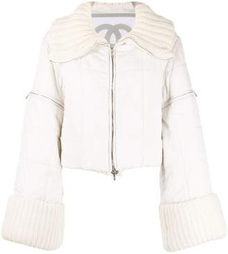 Chanel Pre-Owned 2000s Sports Line padded jacket