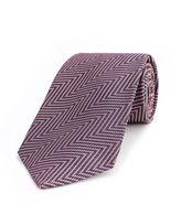 Thomas Pink Millais Herringbone Woven Tie