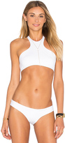 L-Space LSPACE Haute Halter Bikini Top