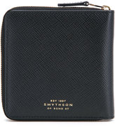Smythson all around zip wallet - men - Leather - One Size