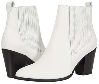 Clarks West Lo (White Leather) Women's Shoes