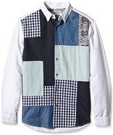 Desigual Men's Regular Fit Long Sleeve Leisure Shirt - White -