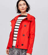 LOFT Petite Swingy Raincoat
