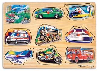Melissa & Doug Classic Vehicles Sound Puzzle