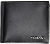 Versace Black Classic Bifold Wallet