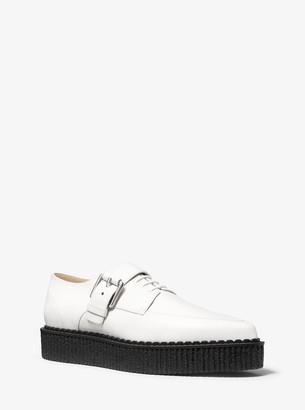 Michael Kors Velma Calf Leather Creeper