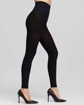 Commando Perfectly Opaque 100 Denier Matte Control Top Footless Tights