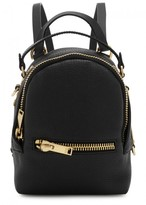 Sophie Hulme Wilson Nano Black Leather Backpack