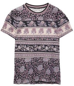Zimmermann Amari Printed Cotton-jersey T-shirt