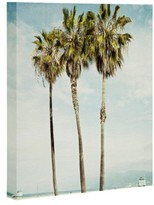 DENY Designs Venice Beach Palms Wall Art