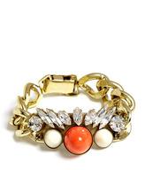 Anton Heunis Crystal Cluster Chunky Chain Bracelet