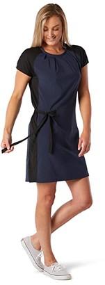 Smartwool Merino Sport Short Sleeve Dress (Deep Navy) Women's Dress
