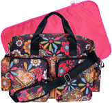 Trend Lab TREND LAB, LLC Deluxe Duffle Diaper Bag-Bohemian Floral