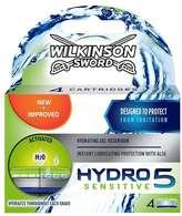 Wilkinson Sword Hydro 5 Sensitive Blades 4s