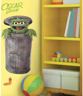 Sesame Street Roomates Giant Oscar the Grouch Wall Decal