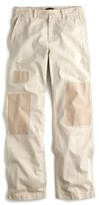 J.Crew Women's Distressed Boyfriend Chino Pants