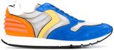 Voile Blanche printed panelled sneakers - men - Leather/Suede/Nylon/rubber - 39