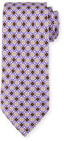 Isaia Neat Printed Silk Tie