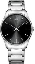 Calvin Klein Mens Swiss Classic Stainless Steel Bracelet Watch