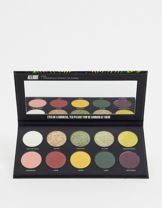 Uoma Beauty Black Magic Color Eyeshadow Palette - Allure