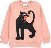 Mini Rodini Organic Cotton Panther Sweatshirt