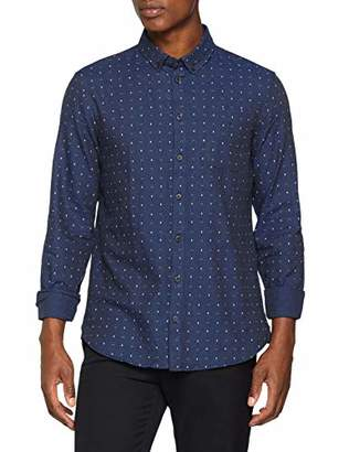 Casual Friday Men's Casual Shirt, (Medieval Blue 50412)