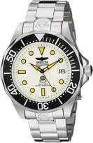 Invicta Men's 10640 Pro Diver Analog Display Japanese Automatic Silver Watch