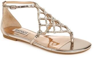 Badgley Mischka Zoanne Embellished Sandal