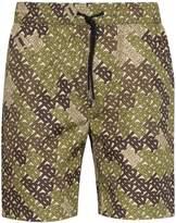 Burberry monogram swim shorts