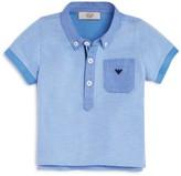 Armani Junior Boys' Pique Polo
