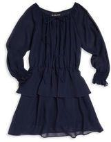 Un Deux Trois Girl's Tiered Ruffle Dress