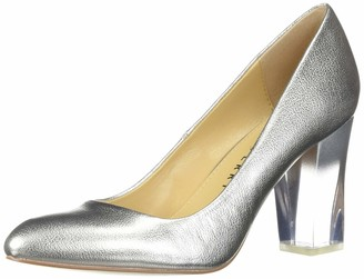 Katy Perry Women's The A.W Middie-Smooth Metallic Pump silver 7.5 M M US