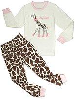 Babypajama Deer Big Girls' Pajamas Set 100% Cotton Organic pyjamas Pink Size 9 Years